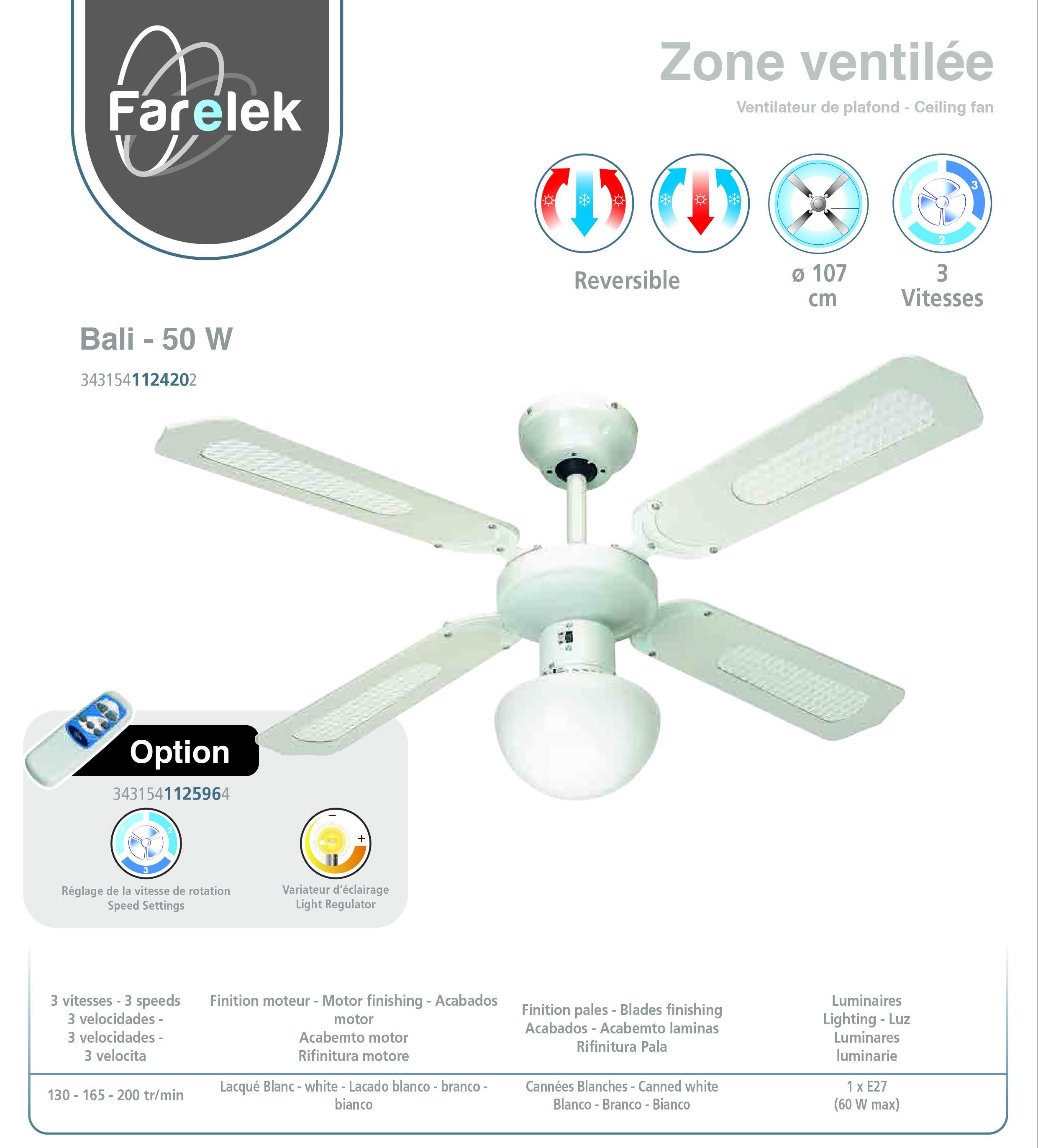 EOS6700W eob966w Electrolux Ventilateur Four élément Circulaire EOB966K EOB966X