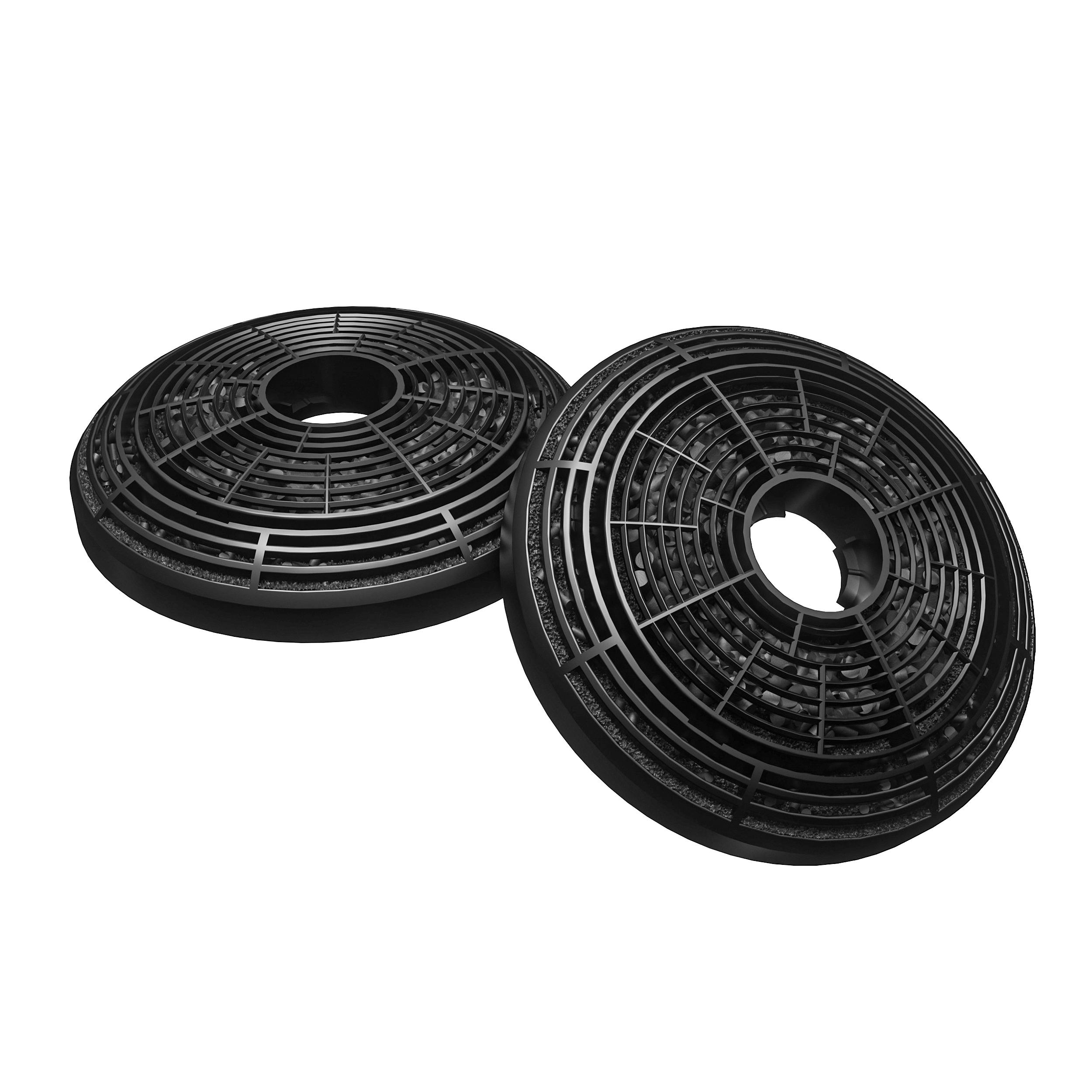 2 x hotte recirculation des filtres à charbon pour cooke /& lewis clmirag 90C